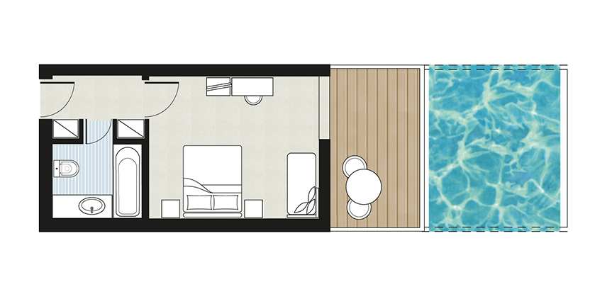 Luxme-White-Palace-Swim-Up-Double-Guestroom-Sharing-Pool