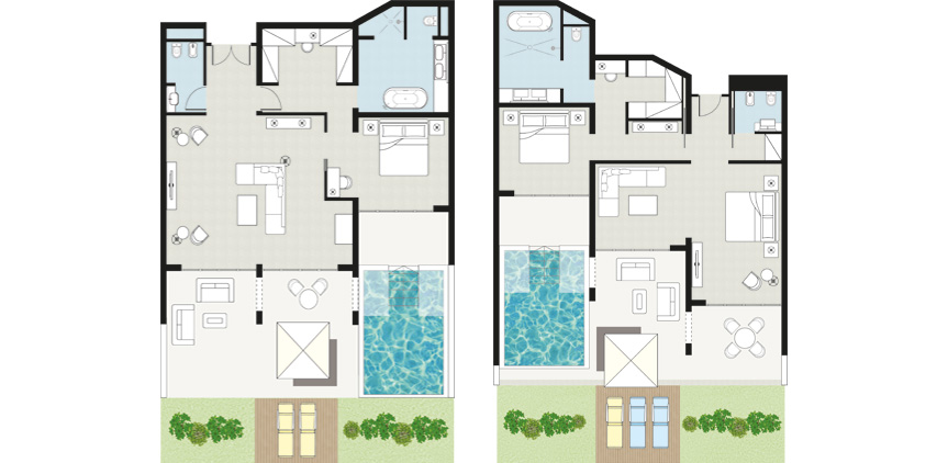 villa-white-seafront-with-direct-access-to-the-beach-floorplan