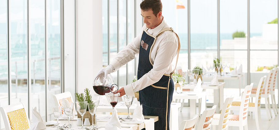 Sommelier services in Crete - White Palace